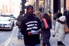 Rally to Legalize MMA in New York - March 6, 2012