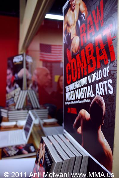 Raw Combat Book Launch