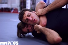 Ottavia Bourdain - Igor Gracie - Rear Naked Choke