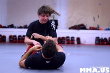 Ottavia Bourdain - Igor Gracie - Jiu-Jitsu Guard Work