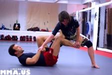 Ottavia Bourdain - Igor Gracie - Jiu-Jitsu Guard Pass