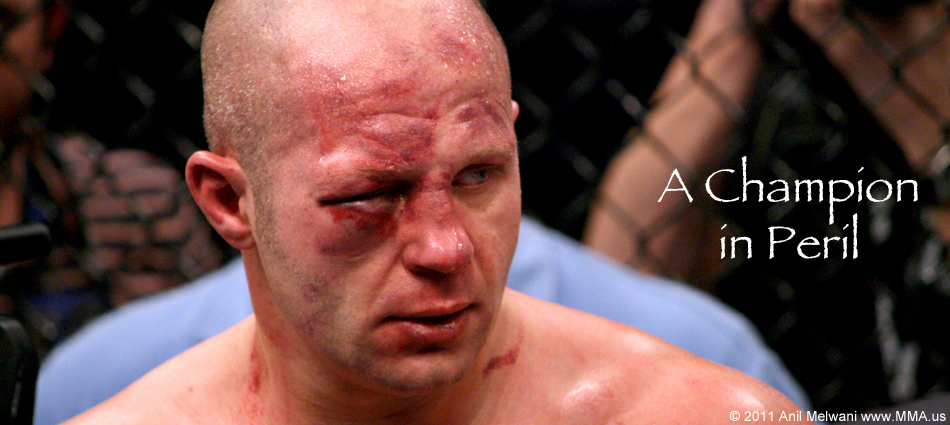 The Doctor Called Off The Fight After Tremendous Abuse Occurred To Fedor's Right Eye