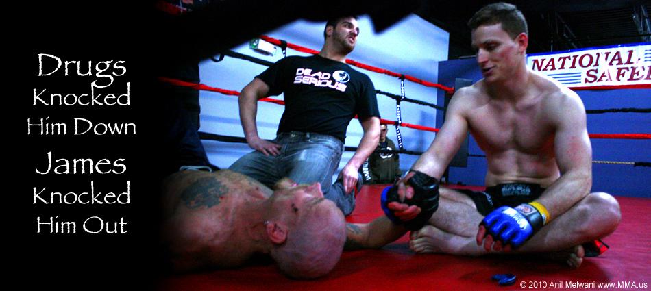 James Funaro Knocks Out  Christian Darrow