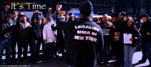 March 6, 2012 - Community Rally for the Sanctioning of Professional MMA in NY