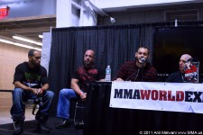 Israel Martinez Speaks At The New York Underground MMA Panel