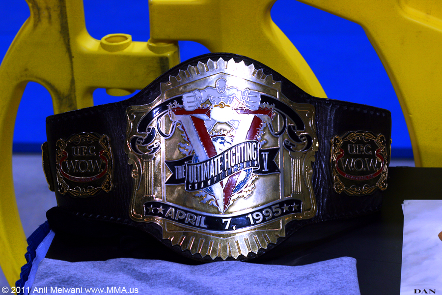 "UFC V Belt - Dan ""the Beast"" Severn"