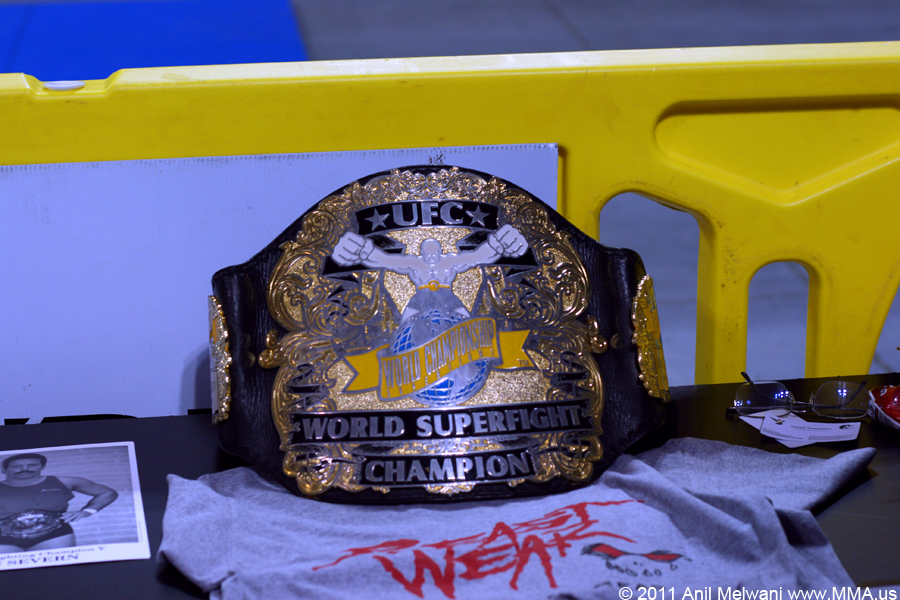 "UFC Superfight Belt - Dan ""the Beast"" Severn"