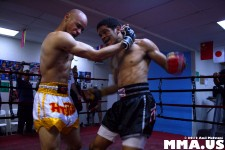 Desmond Nelson vs. Doug Ahammer - Muay Thai