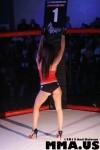 Aggressive Combat Sports Cage GIrl