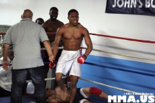 Pataudi Rambrose Victorious via Ground & Pound stoppage