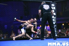 Fight 2 - Rob Scotti def. Carlos Oquendo via Submission (Rear Naked Choke) at :56, R1