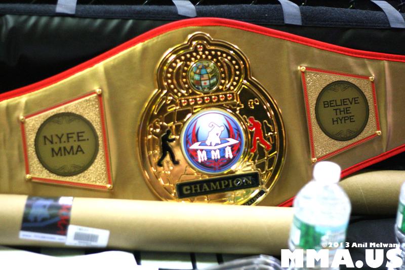 NYFE - 10 - NYFE MMA Belt