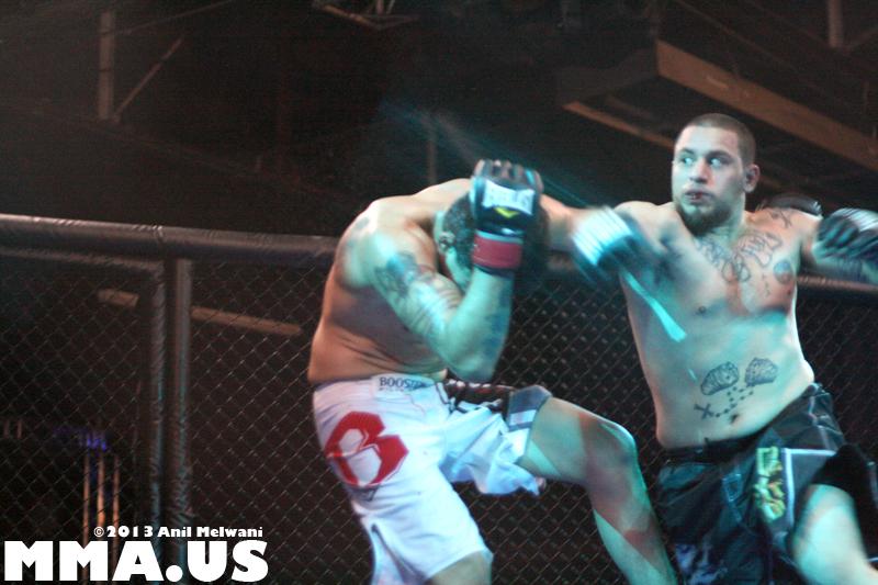 NYFE - 17 - Fight 5 - Jonathan Rivera vs. Giorgio Smaljimgai