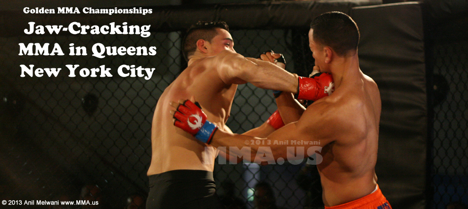 Fists Fly In Queens, New York - Golden MMA 3