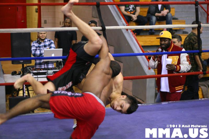 22 - Allen Cornelius vs. Jay Marlin - Underground Combat League February 2014