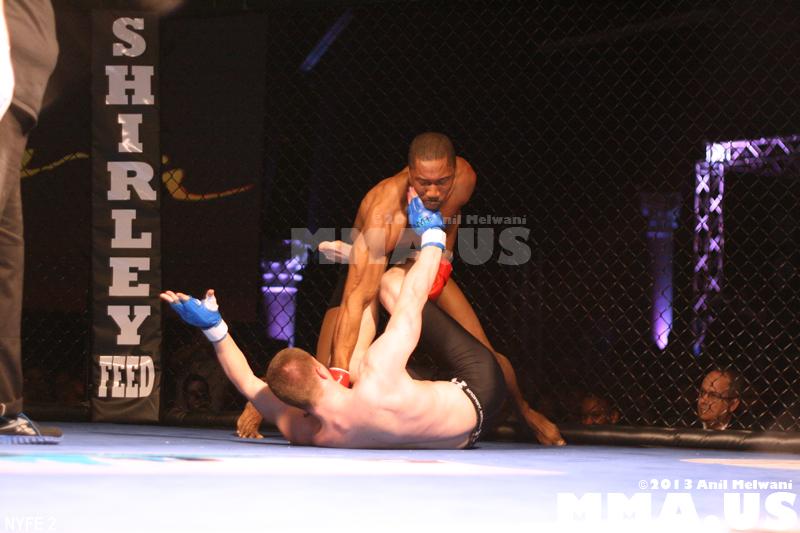 28 - Fight 6 - Nick Olson vs. Omowale Adewale