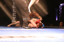 Fight 6 - Nick Olson vs. Omowale Adewale