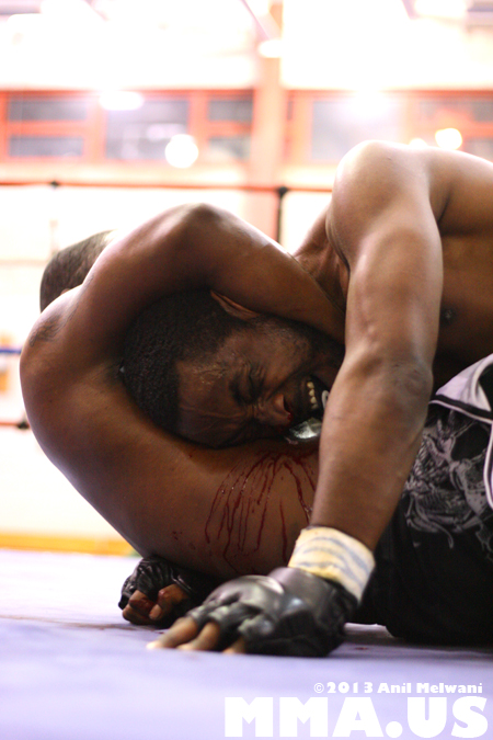 45 - Rashad Clarke vs. Mike Brown - Underground Combat League February 2014