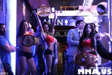 Fight 9 - Ring Girls with Felipe Carlos' Belts