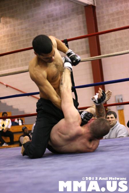 57 - Jonathan Velez vs. Brad Bateman - Underground Combat League February 2014