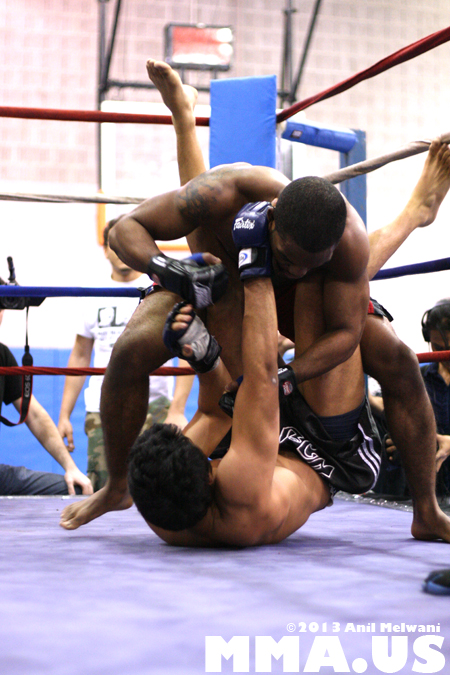 73 - Allen Cornelius vs. Harol Coronado - Underground Combat League February 2014