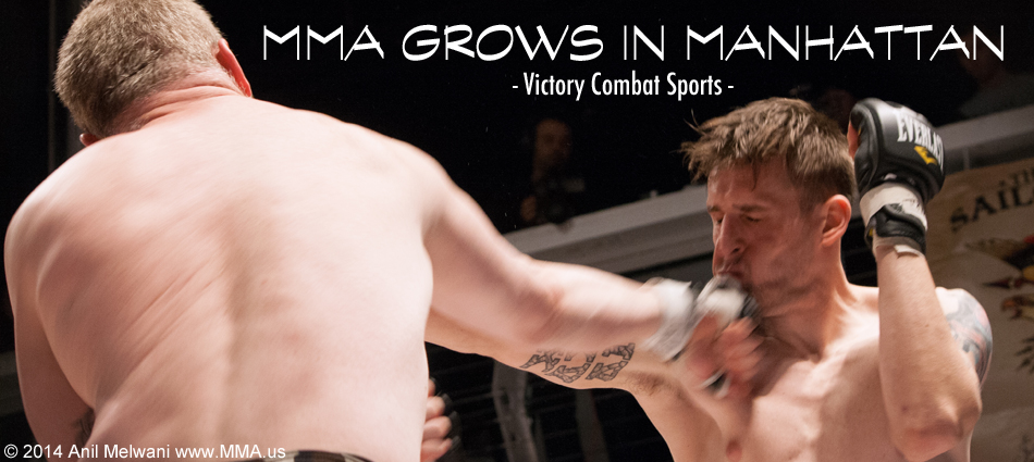 MMA Grows In Manhattan - Victory Combat Sports