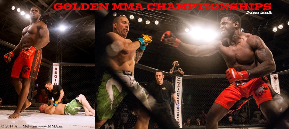 Justin Vargas Wins Big at Golden MMA