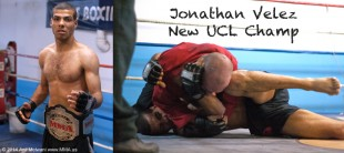 Jonathan Velez KOs 2 To Win UCL Belt