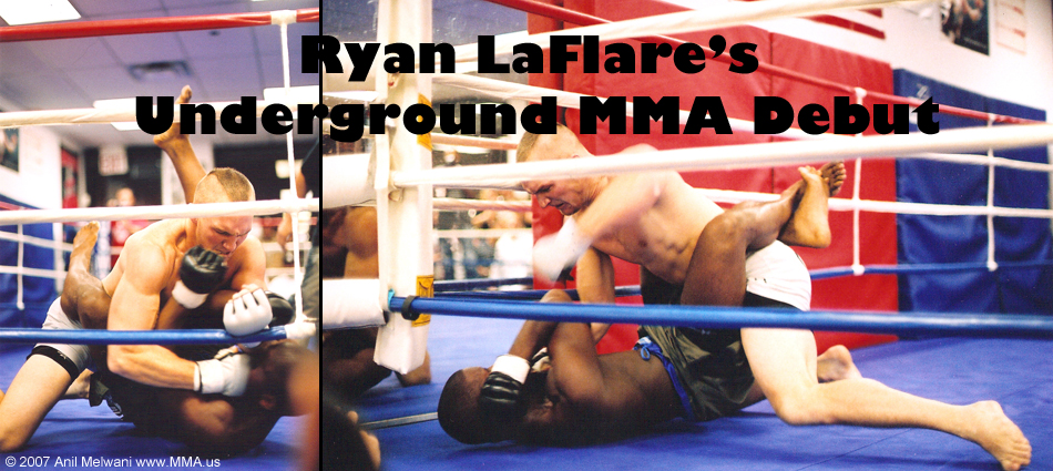 Ryan LaFlare's Underground MMA Fighting Debut