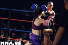 Muay Thai - Gianna Cuello vs. Kit Fung