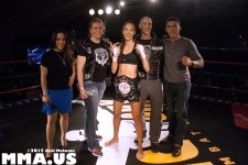 Muay Thai - Gianna Cuello, 105 lb Muay Thai USKA Champion