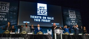 UFC 205 Press Conference at Madison Square Garden
